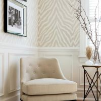Thibaut Etosha wallpaper in Grey