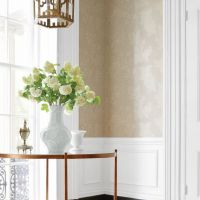 Thibaut Eland Acanthus wallpaper in Stone