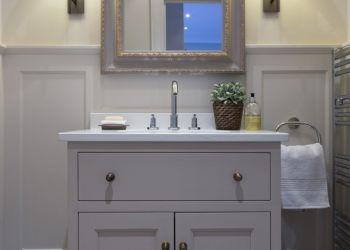 Bathroom with Panelling Blackrock